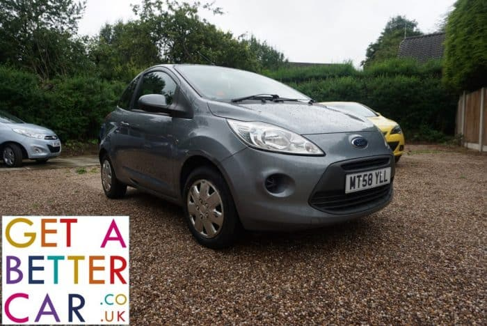 FORD KA 1.2 STYLE – SILVER (2008)