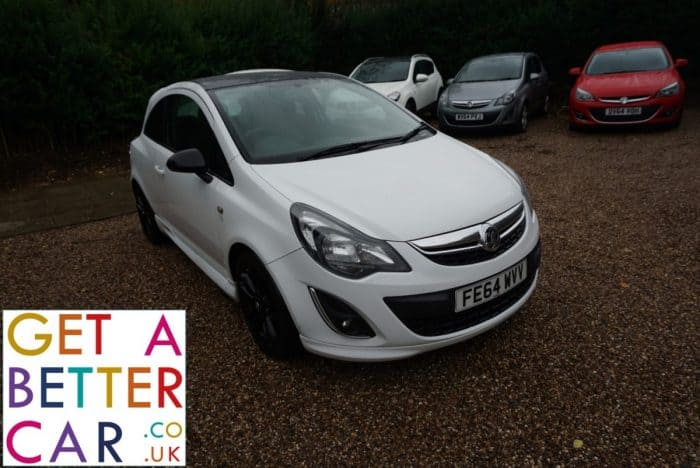 VAUXHALL CORSA 1.3 LIMITED EDITION – WHITE (2014)