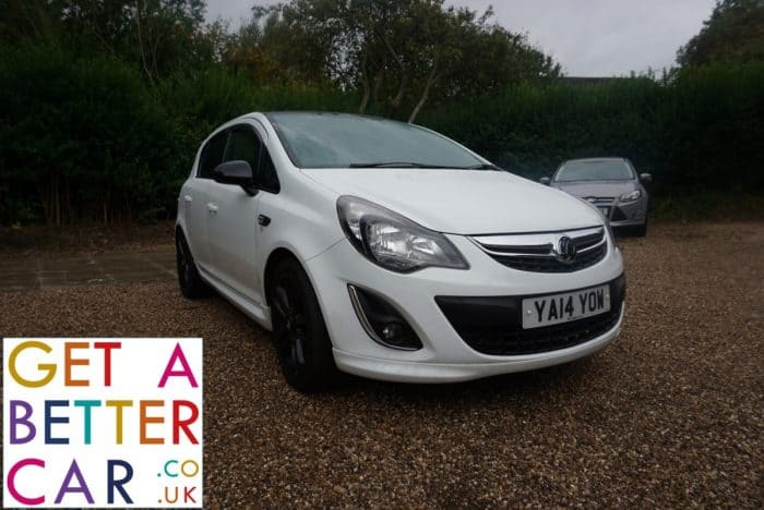 VAUXHALL CORSA 1.2 LIMITED EDITION (5 DOOR) – WHITE (2014)