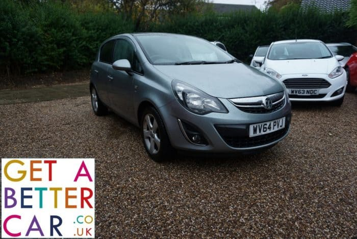 VAUXHALL CORSA 1.4 SXI AUTOMATIC – SILVER (2014)