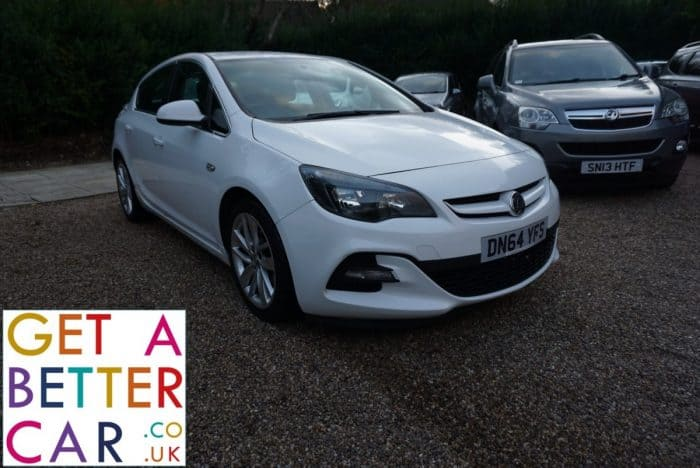 VAUXHALL ASTRA 1.6 TECH LINE GT – WHITE (2014)