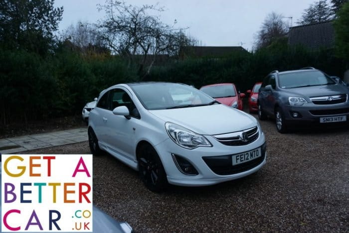 VAUXHALL CORSA 1.3 LIMITED EDITION – WHITE (2012)