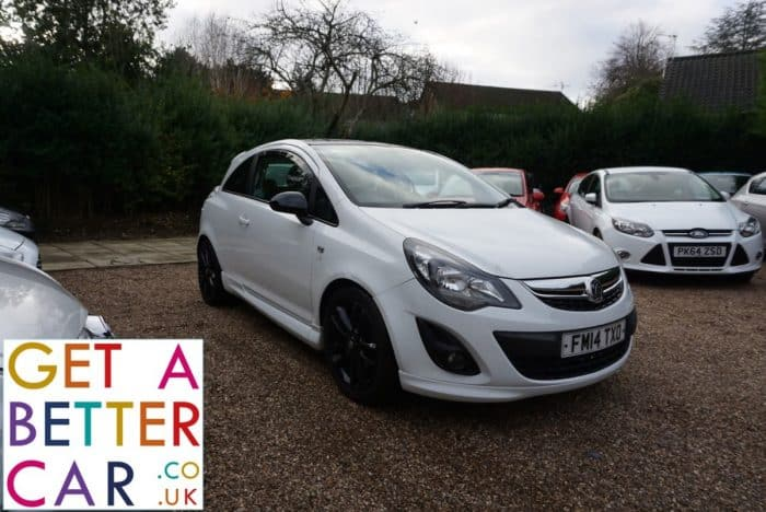 VAUXHALL CORSA 1.2 LIMITED EDITION (3 DOOR) – WHITE (2014)