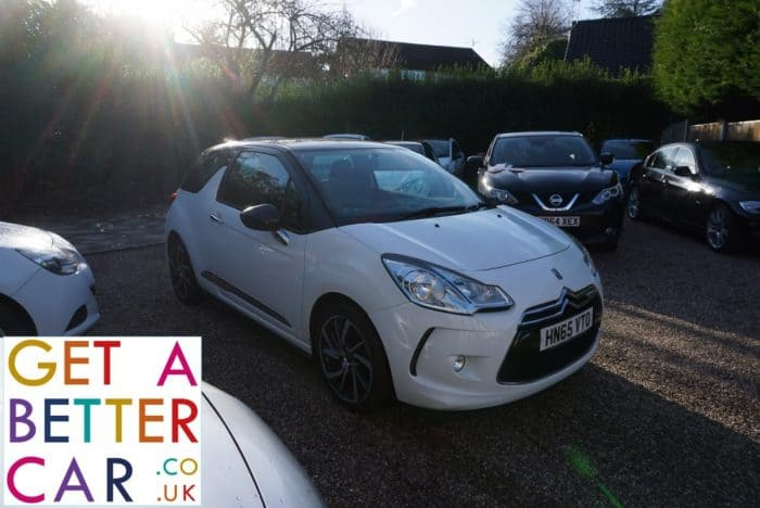DS DS3 1.6 HDI DSTYLE NAV – WHITE (2015)