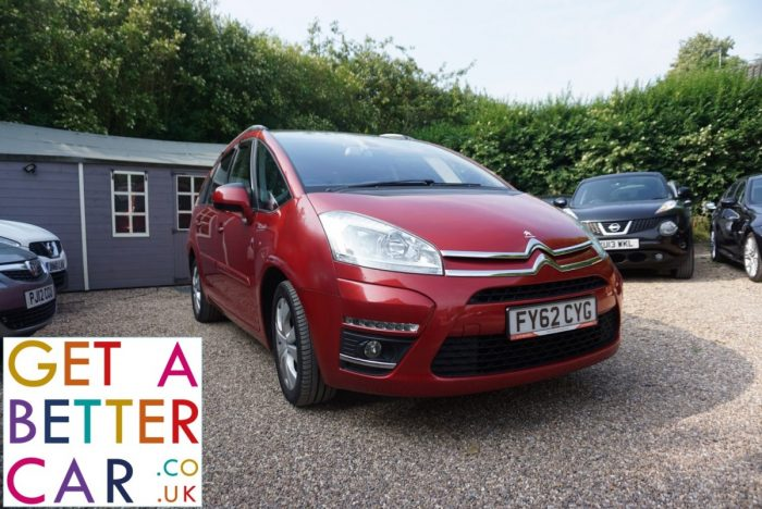 CITROEN C4 GRAND PICASSO 1.6 AIRDREAM – AUTOMATIC – RED (2012)