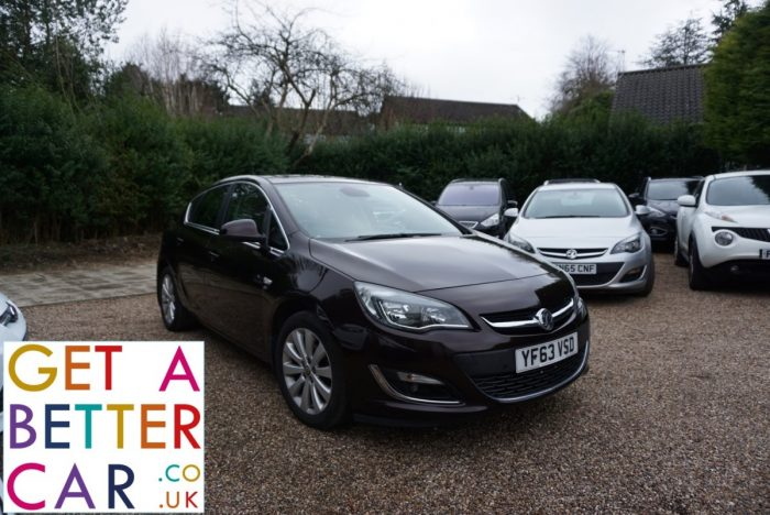 VAUXHALL ASTRA 1.6 SE – BROWN (2014)