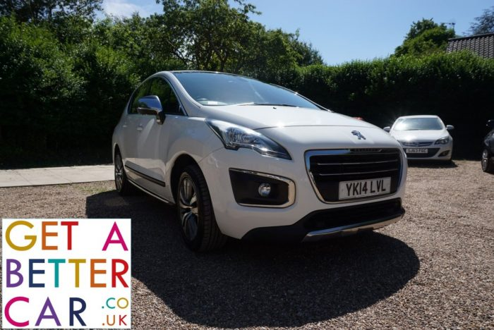 PEUGEOT 3008 1.6 HDI ACTIVE – AUTOMATIC – WHITE (2014)