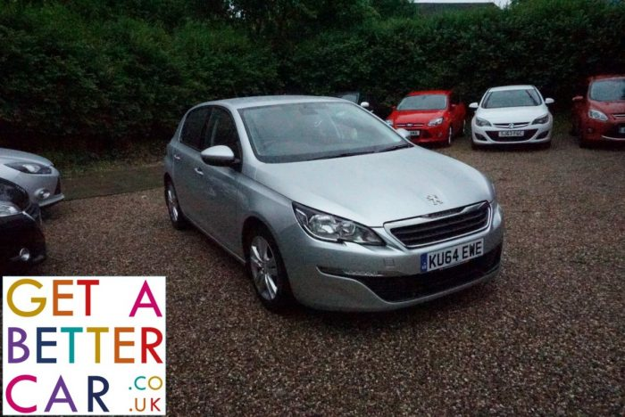 PEUGEOT 308 1.6 HDI ACTIVE – SILVER (2014)