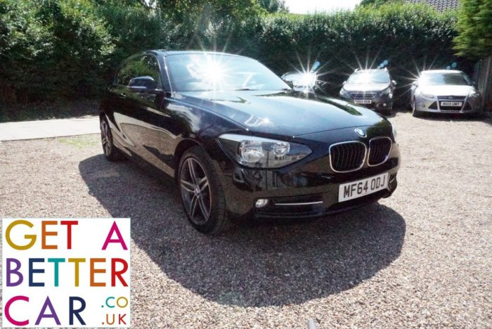 BMW 1.6 114D SPORT – BLACK (2014)