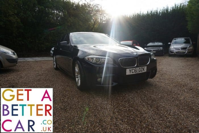 BMW 520d 2.0 MSPORT – BLACK (2011)