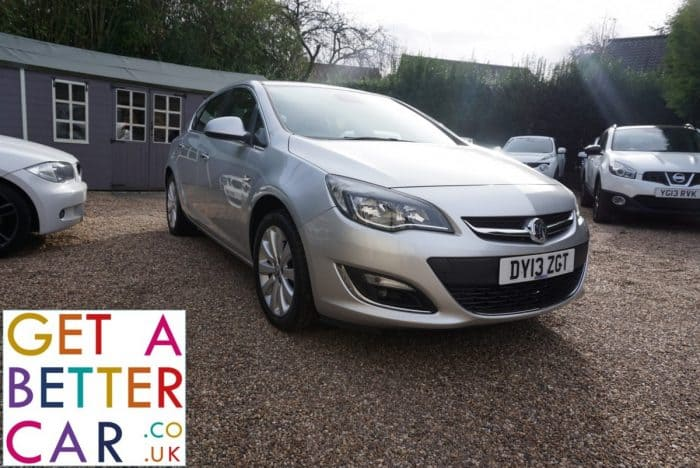 VAUXHALL ASTRA 1.6 SE – SILVER