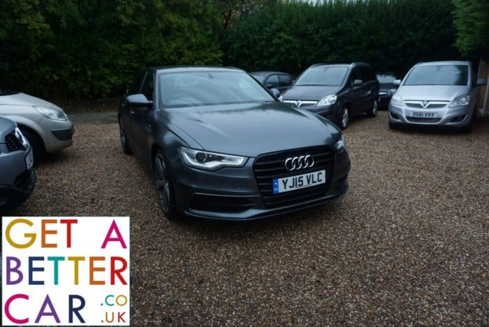 AUDI A6 2.0 S-LINE BLACK SALOON – GREY (2015)