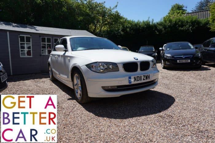 BMW 116 2.0 SPORT – WHITE (2011)