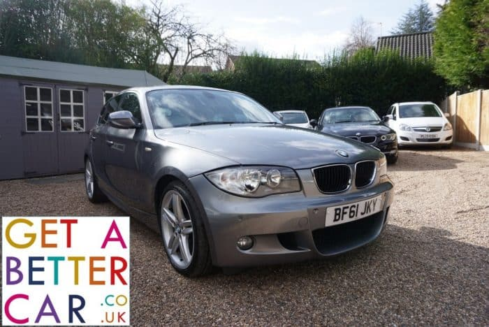 BMW 118D M SPORT – GREY