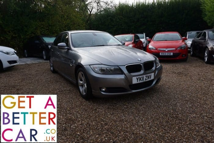 BMW 320D 2.0 EFFICIENT DYNAMICS – GREY (2011)