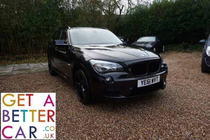 BMW X1 2.0 XDRIVE 23D MSPORT – BLACK – AUTOMATIC (2011)