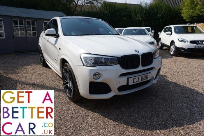 BMW X4 2.0 XDRIVE MSPORT AUTOMATIC – WHITE (2015)