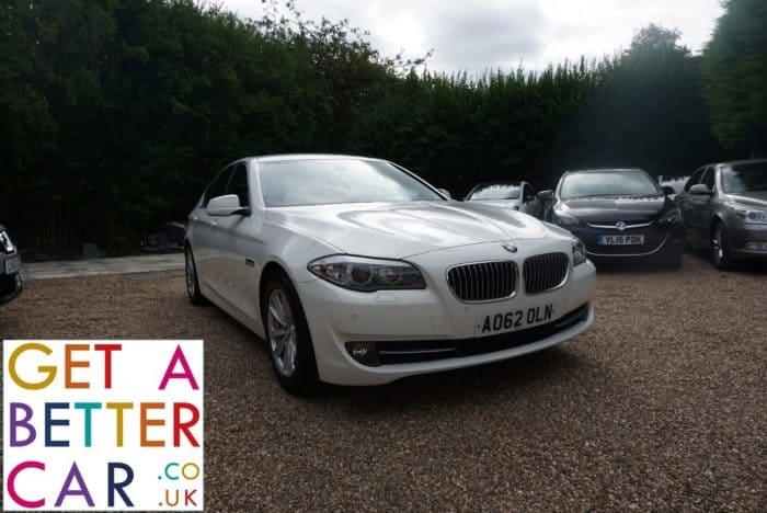BMW 520 2.0 SE – WHITE (2012)