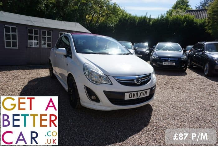 VAUXHALL CORSA 1.2 LIMITED EDITION – WHITE (2011)