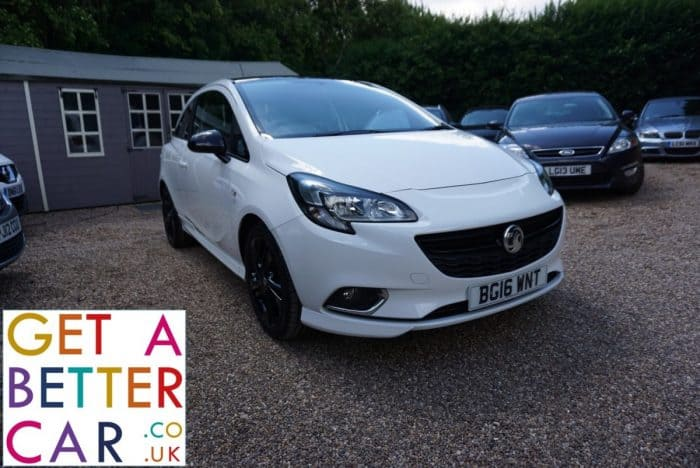VAUXHALL CORSA 1.4 LIMITED EDITION – WHITE (2016)