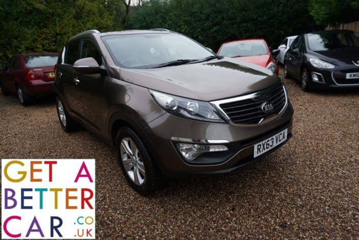 KIA SPORTAGE 1.6 2 – BROWN (2013)